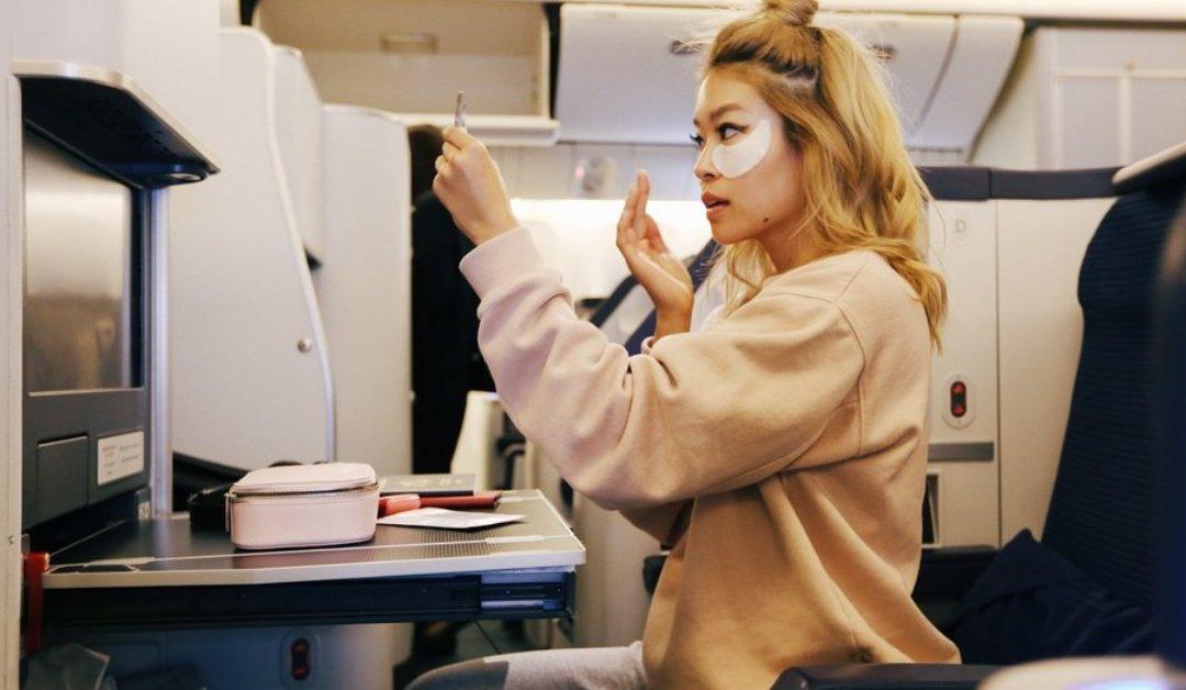 Skincare Tips for Long Flights